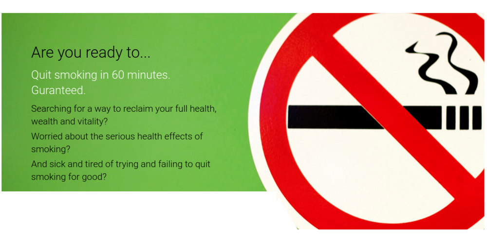 Quit smoking in 60 minutes with Terrie Popper Hypnoquit Hypnosis Melbourne